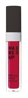 <b>Блеск</b>-<b>флюид для</b> губ <b>матовый</b> Mat Lip Fluid, тон 40 красный