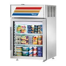 true gdm 07f hc tsl01 24 13 countertop freezer merchandiser with 3 shelves