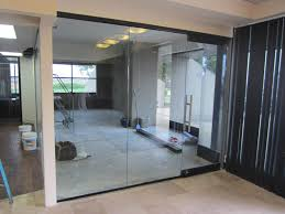 glass office wall. custom office glass wall divider mira mesa