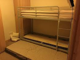 triple bunk bed / Ikea bunk beds with trundle pull out bed