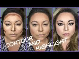 contour highlight for a round face