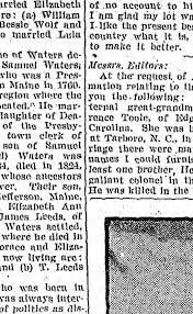 Waters Lineage - Newspapers.com