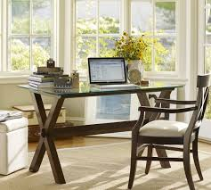 pottery barn office desk. wonderful desk ava wood desk  espresso stain  pottery barn i have a sofa table inside office