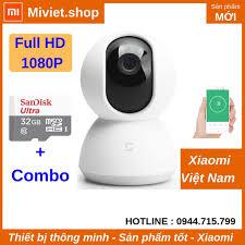 Camera Ip Xoay 360 Độ Xiaomi Mijia 1080p 2018 - Thẻ nhớ 32G - Chính Hãng |  Nông Trại Vui Vẻ - Shop