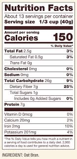 oat bran cereal