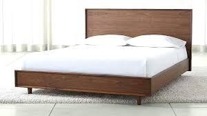 wooden bed frame solid queen wood frames king diy