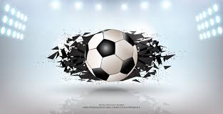Soccer Graphic Design Sport Banner Background Realistic Graphic Design 3d Ball