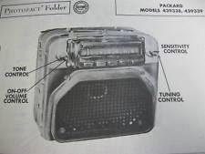 radio & speaker systems in mmake packard ebay 1953 Packard Clipper Deluxe Wiring Diagram 1953 packard 439338 & 439339 radio photofact 1952 Packard Clipper Deluxe