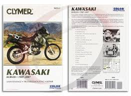 kawasaki klr repair manual clymer m service shop 1987 2007 kawasaki klr650 repair manual clymer m474 3 service shop garage
