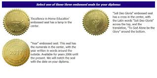 standard diploma for high school or homeschool group including  standard high school diploma including deluxe cover