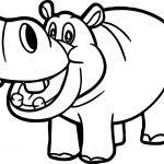 Small Picture Hippopotamus Coloring Pages Free Coloring Pages Coloring Pages For