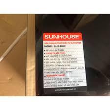Bếp đôi điện từ SUNHOUSE SHB DI02
