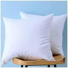 set of 2 down and feather throw pillow insert 100 cotton