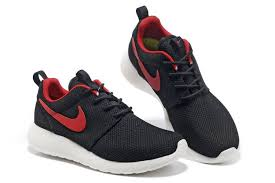 nike running shoes for men black and red. nike men\u0027s running shoes - roshe run black/red for men black and red