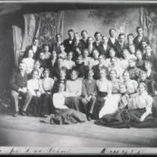 San Jose High School, Class of 1898 — Calisphere
