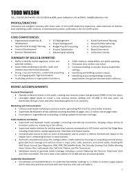 Non Profit Resume Inspirational Sample Resume For Non Profit