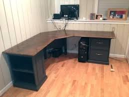 extra long office desk. Desk Diy L Shaped Sketchup Model Fabricated Cabinet Component Fit Up Long Extra Office