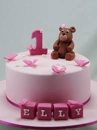 Little Girl First Birthday Cake Ideas Photos