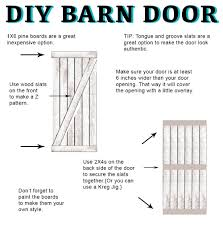 Make Your Own Shutters Diy Barn Door Instructions And Hardware