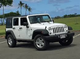jeep white.  White View Gallery Next 2016 Jeep Wrangler Unlimited Sport White Front Quarter  Palm Trees On