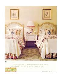 Our classic symmetry- two twin headboards in our hand painted