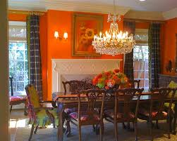 fireplace paint ideasOrange Paint Colors For Dining Rooms With Fireplace And Ceiling