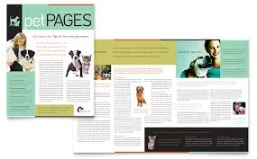 Newletter Formats Veterinary Clinic Newsletter Template Word Publisher