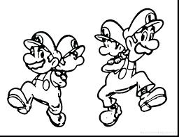 Mario Coloring Page Super Bros Printable Coloring Pages Super