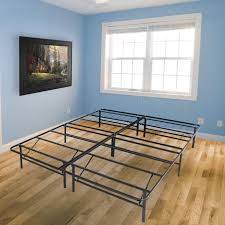 platform bed no box spring. Unique Box Best Choice Products Platform Metal Bed Frame Foldable No Box Spring Needed  Mattress Foundation Queen  Walmartcom To I