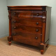 magnificent quality victorian mahogany antique scottish chest of drawers