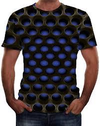 <b>2019 New</b>-<b>Men's</b> Short Sleeve T Shirt <b>Summer</b> 3D Printed Casual ...