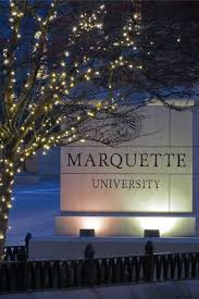 Marquette Christmas Lights Christmas Lights At Marquette University In 2019 Marquette