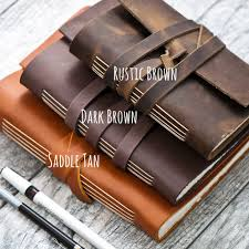 personalized leather journal leather bound journal personalized personalized leather journal for men