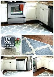 kitchen rug runners modern target washable
