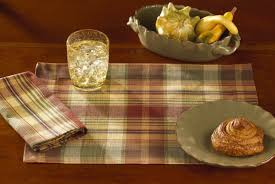 Park Designs Saffron New Park Designs Saffron Placemats Napkins Deep Plaid Choice