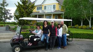 5-21-14 Village Vineyard-Patti Kuni, Julie Kuni, Andy, Cheri Smith, Dave  Owen - Corks and Forks