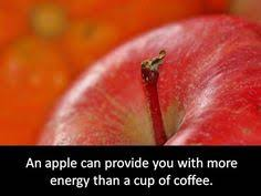 your apples from an organic orchard where you can see them on the trees
