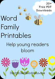 This product does just that. 21 Free Word Family Printables To Help Beginning Readers