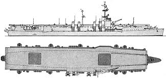Cv22 Independence Light Aircraft Carriers 1943 United States