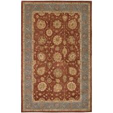 indoor area rugs 6 8 awesome nourison hand tufted heritage hall brick wool rug 2 6 x 8 runner
