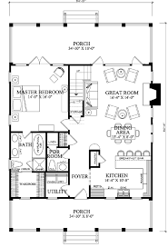 ideas about Cottage Floor Plans on Pinterest   Floor Plans    First Floor Plan of Cottage Country Farmhouse House Plan