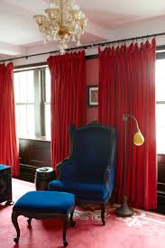 Red And Blue Living Room Traditional Bedroom Photos 159 Of 552