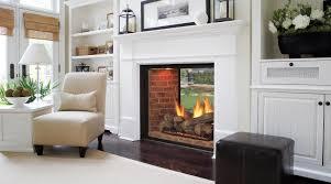 Interior:Futuristic Home Interior Design With Glass Fireplace And Comfy  Cream Chair Decor Ideas Futuristic