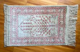 persian persian rug iran qum ghom silk on silk second half