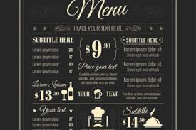Restaurant Menu Format Free Dinner Menu Format Archives Bates On Designs