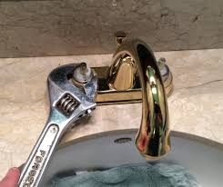 leaking bathroom faucet
