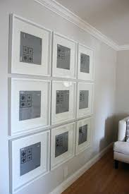 ikea ribba frame large gallery wall with frames easy use your own art ikea ribba ikea ribba frame