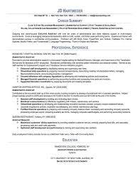 good professional summary for - Resume Career Summary Examples