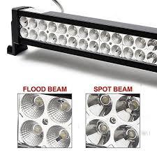 richsolar 120w 24″ inch led light bar work lights flood spot combo richsolar 120w 24 inch led light bar work