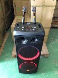 Loa kéo Karaoke Bluetooth JBZ 1219 chất âm cực hay, tặng kèm 2 mic không  dây hát siêu hay, Bass đôi 3.5 tấc [BH 6 tháng]